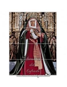 Retablo de 12 azulejos de la Virgen de la Esperanza de Triana ( Sevilla)