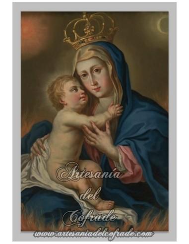 Se vende este bonito azulejo de la Virgen Maria con el Niño Jesus - Tienda de Articulos Religiosos
