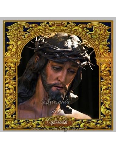 Azulejo cuadrado del Cristo de las Penas de Cordoba