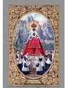 Azulejo rectangular de la Virgen de Montserrat