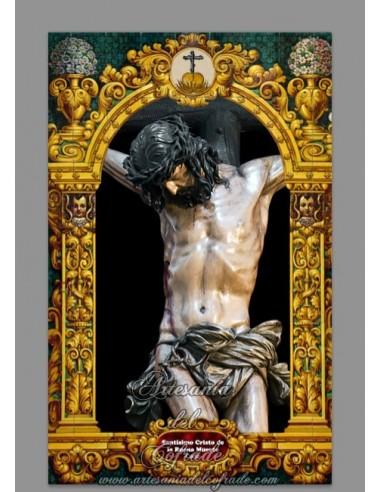 Se vende azulejo rectangular del cristo de la buena muerte for Azulejos cadiz