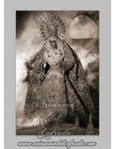 Precioso azulejo de Nuestra Señora de la Esperanza Macarena y Madre María de la Purísima