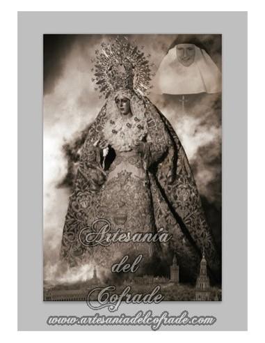 Se vende baldosa de cerámica de Nuestra Señora de la Esperanza Macarena y Madre María de la Purísima