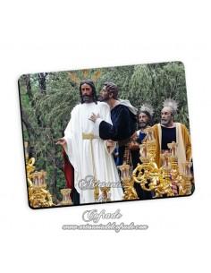 Bonita alfombra de ratón del Cristo de la Redención en el Beso de Judas de Sevilla