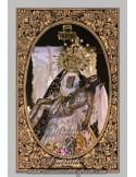 Precioso azulejode la Virgen de las Angustias de Cordoba en el Huerto de Córdoba.