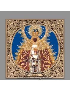 Azulejo cuadrado de Nuestra Señora de Regla (Patrona de Chipiona)