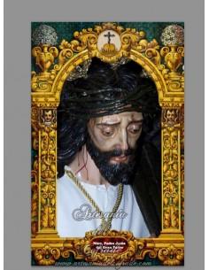 Azulejo rectangular con Jesús del Gran Poder de San Fernando (Cádiz)