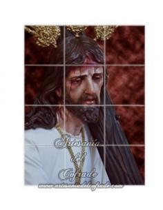 Retablo de 12 azulejos de Nuestro Padre Jesús de la Salud de Jerez de la Frontera (San Rafael)