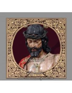 Azulejo cuadrado de Nuestro Padre Jesús del Ecce-Homo (Cádiz)