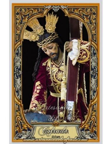 Azulejo del Cristo de la Misericordia de Málaga