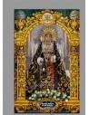 Baldosa de cerámica de la virgen de los Dolores de Córdoba