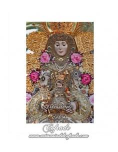 Lienzo con bastidor 20x30 de la Virgen del Rocio (Patrona de Almonte)