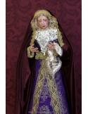 Se vende Virgen Dolorosa de candelero de 55 ctm de altura y vestida