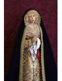 Se vende Virgen Dolorosa de 57 ctm de altura con manos unidas y vestida