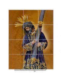 Retablo de 12 azulejos de Nuestro Padre Jesús del Gran Poder de Sevilla