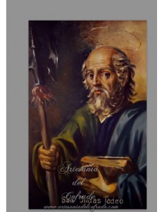 Azulejo rectangular de San Judas Tadeo