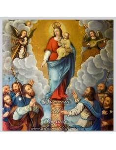 Azulejo de la Virgen del Pilar