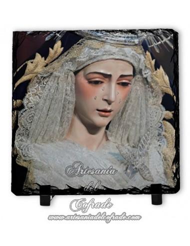 Se vende baldosa de pizarra de la virgen del Rocío de Sevilla