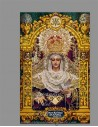 Se vende baldosa de cerámica de María Santísima de la Paloma de Málaga