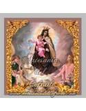 Precioso azulejo de la Virgen del Carmen