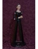 Se vende Virgen Dolorosa de candelero de 57 ctm con manos unidas
