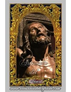 Precioso azulejo rectangular del Cristo de la Expiración de Sevilla