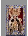 Se vende cerámica de la Virgen del Carmen de Córdoba con lema -Tienda Cofrade