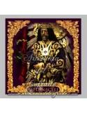 Precioso azulejo cuadrado del Cristo de Medinaceli de Madrid
