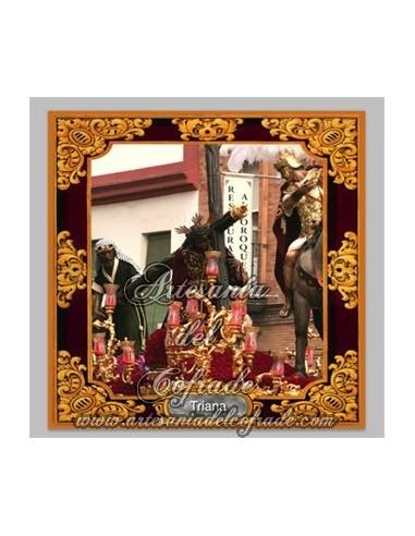 Azulejo del Cristo de las Tres Caidas de Triana