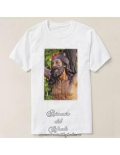 Camiseta con la imagen del Cristo del Cachorro de Sevilla