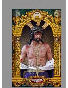 Se vende este azulejo de Nuestro Padre Jesús del Amor Despojado de sus vestiduras -Tienda Cofrade de Cádiz