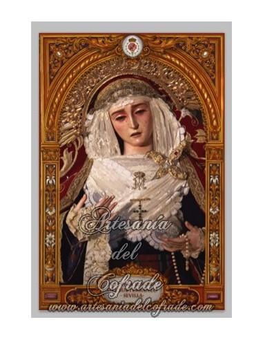 Se vende baldosa de cerámica de la Virgen del Subterraneo de Sevilla