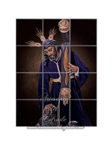 En venta este mosaico de 12 azulejos del Cristo de las Tres Caidas de Triana (Sevilla) - La Tienda Cofrade