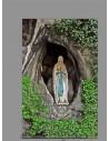 Se vende esta cerámica rectangular de Nuestra Señora de Lourdes - Tienda de Productos Religiosos