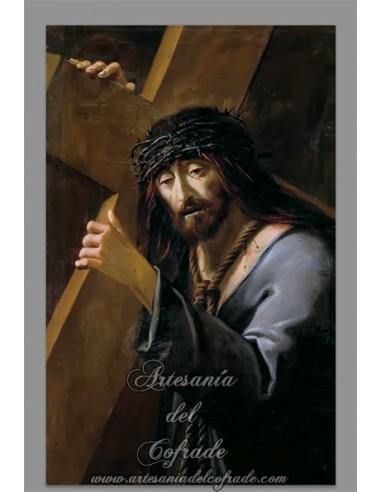 Espectacular azulejo rectangular de Jesús Nazareno
