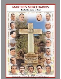 Azulejo rectangular de los martires mercedarios