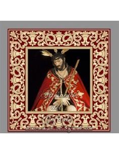 Azulejo de Nuestro Padre Jesús de la Salud y Buen Viaje (San Esteban de Sevilla)