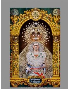 Azulejo rectangular de Nuestra Señora de la Esperanza Macarena de Sevilla, solo en venta en nuestra tienda online