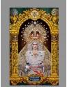 Azulejo rectangular de Nuestra Señora de la Esperanza Macarena de Sevilla