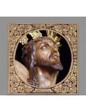 Precioso Azulejo del cristo de la Expiración de Málaga