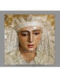 Azulejo cuadrado de la Virgen Esperanza de Triana