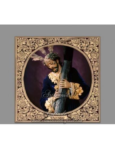 Azulejo cuadrado Nuestro Padre Jesús del Calvario de Cordoba