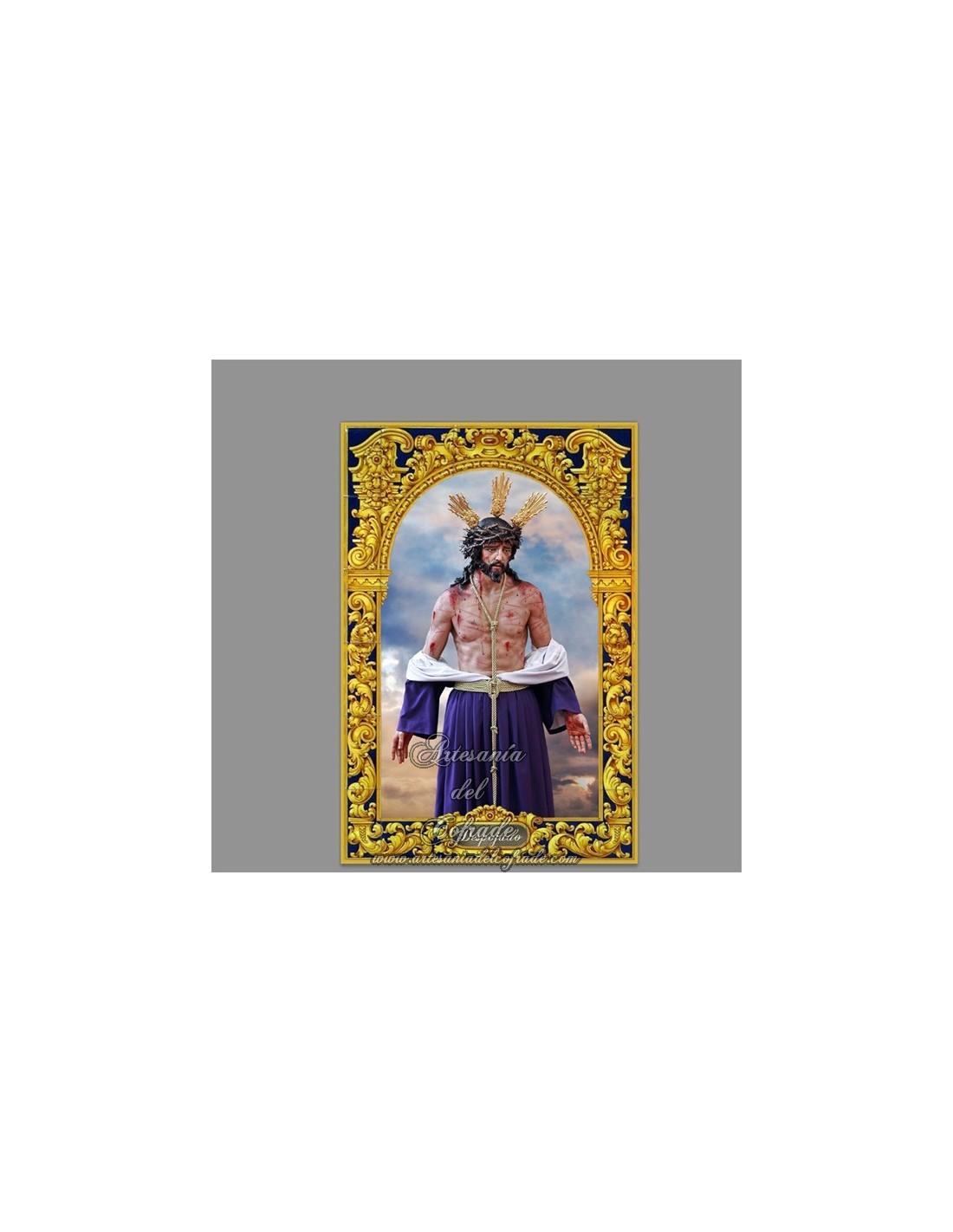 Azulejo rectangular de jesus despojado de c diz for Azulejos cadiz