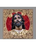 Precioso Azulejo cuadrado de Jesús de la Victoria de Sevilla