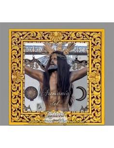 Azulejo cuadrado del Cristo de la Expiración de Jerez de la Frontera