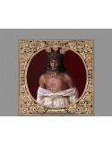 Azulejo cuadrado de Nuestro Padre Jesús de las Penas, el gitano de Cordoba.