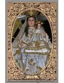 Azulejo rectangular de Gracia de Alcantarilla (patrona de Belalcazar)