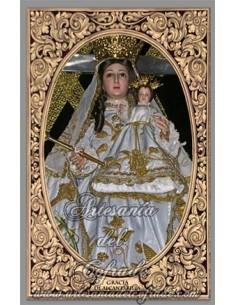 Azulejo rectangular de Gracia de Alcantarilla (patrona de Belalcázar)