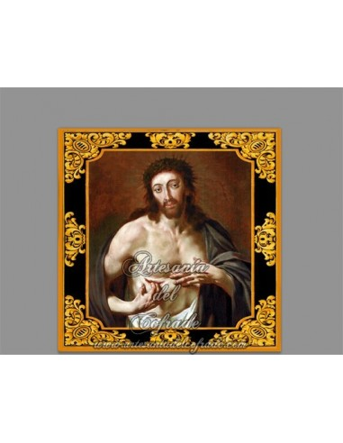 Azulejo cuadradao de Jesucristo