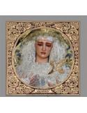 Azulejo cuadrado de Nuestra Señora de las Lágrimas (La Exaltación, Sevilla)